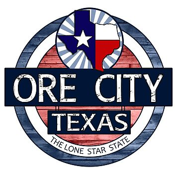 Ore City Texas rustic wood circle by artisticattitud