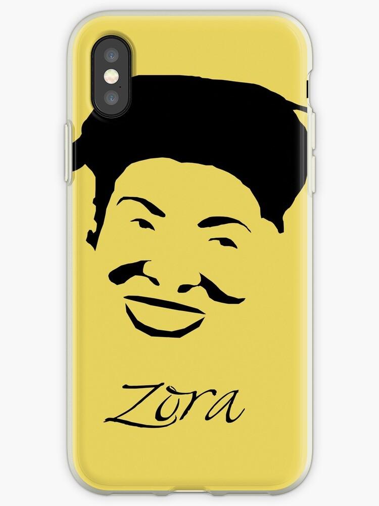 'Zora Neale Hurston Writer' iPhone Case by MephobiaDesigns