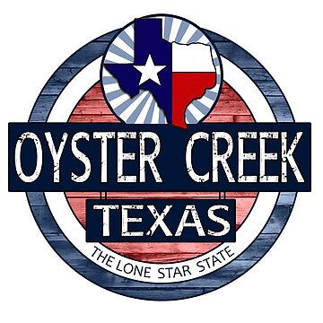 Oyster Creek Texas rustic wood circle by artisticattitud