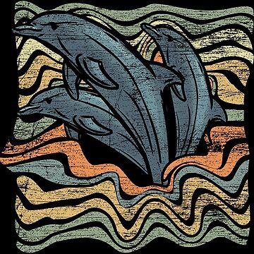 dolphins by GeschenkIdee