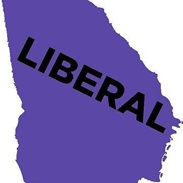 Liberal Georgia - purple by wokesouth
