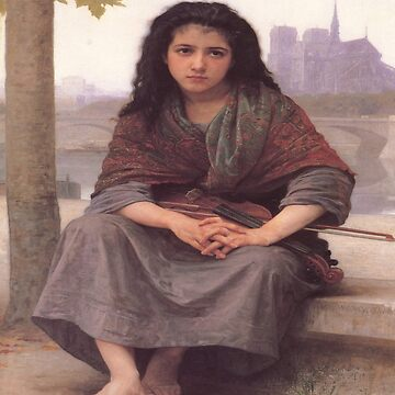 The Bohemian-William Adolphe Bouguereau by LexBauer
