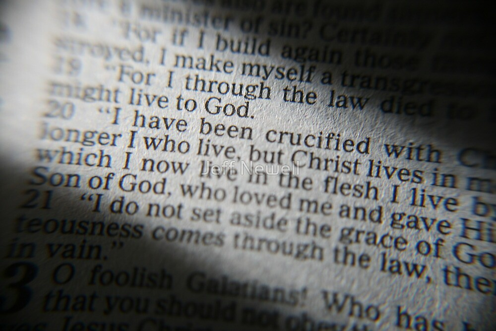 Galatians 2:20 by Jeff Newell
