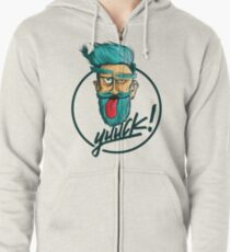 Hipster Zipped Hoodie