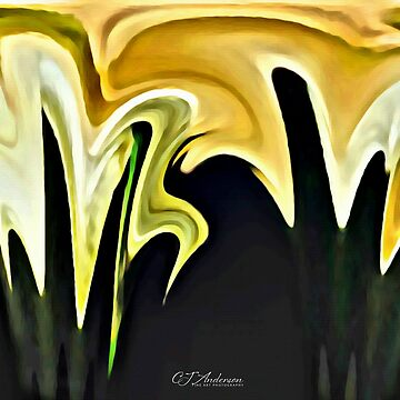 Calla Lily Abstract by CJAnderson
