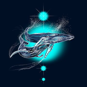 COSMIC WHALES  by karmadesigner