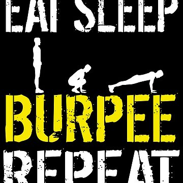 Funny Burpees Workout Obstacle Course Race Bootcamp by kh123856