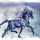 Purple Rain Horse by RavensLanding