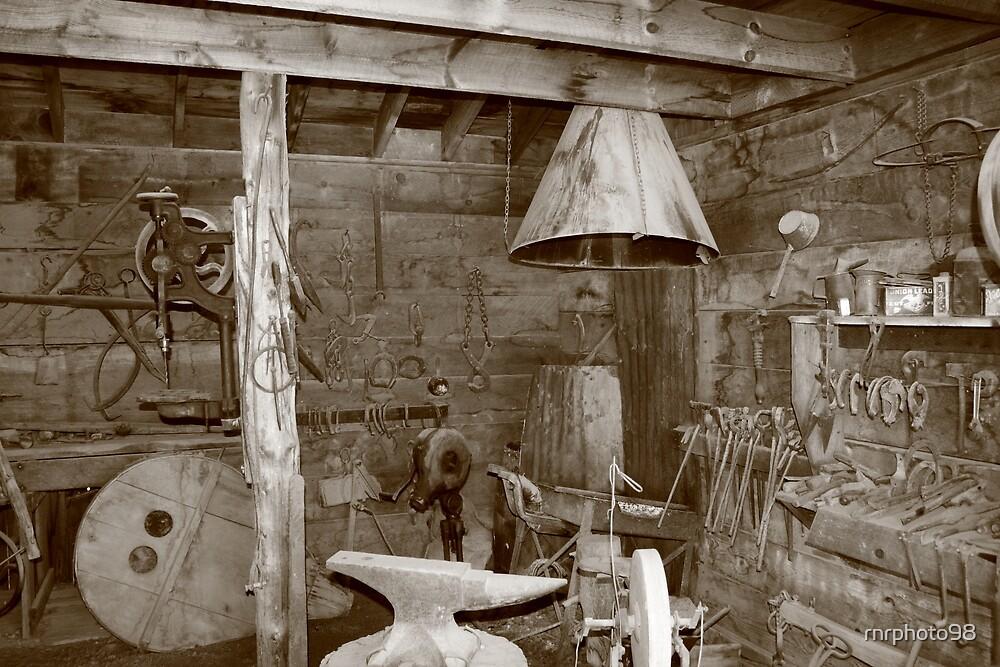 Blacksmiths shop in Idaho City, Idaho by rnrphoto98