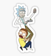 Rick And Morty Sticker