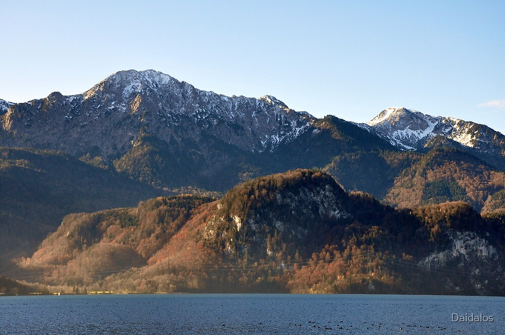 Mountain Herzogstandberg Germany by Daidalos