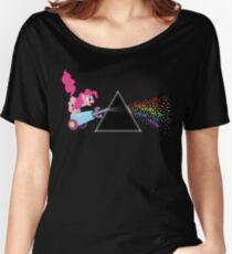 Pinkie Pie dunkle Seite des Mondes Loose Fit T-Shirt
