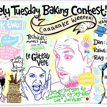The Lovely Tuesday Baking Contest! Week two: CAKE by lauriepink