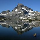 Banner Peak Reflection by Rebecca SowardsEmmerd