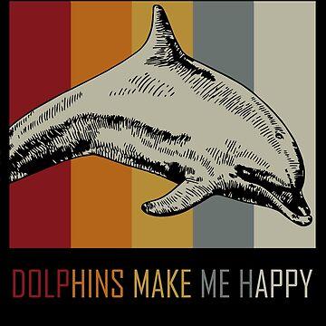 Dolphin animal lover by GeschenkIdee