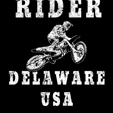 Rider Delaware USA - Used Look Motorcycle Delaware by DennBa