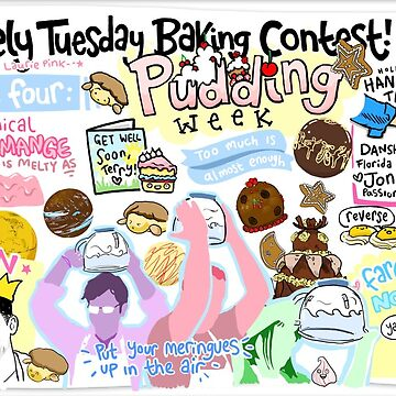 The Lovely Tuesday Baking Contest! Week four: PUDDING! by lauriepink
