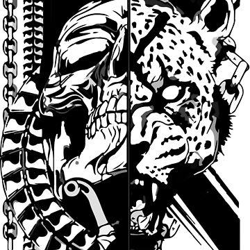 Tiger Skull by Neppster123