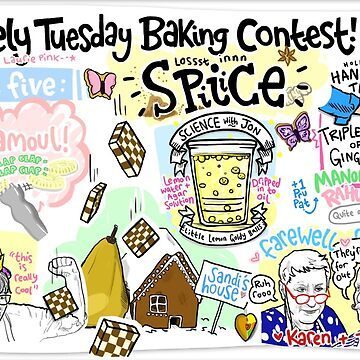 The Lovely Tuesday Baking Contest! Week five: SPICE! by lauriepink