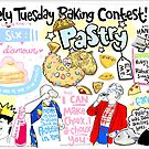 The Lovely Tuesday Baking Contest! Week six: PASTRY! by lauriepink