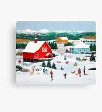 Winter Memories Canvas Print