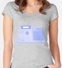 Akai MPC2000 Women's Fitted Scoop T-Shirt