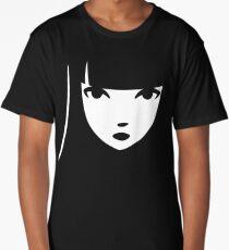 Emily the Strange: Emily's face Long T-Shirt