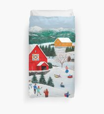 Winter Memories Duvet Cover