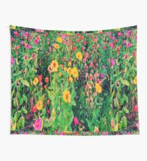 Flowers and leaves Wall Tapestry