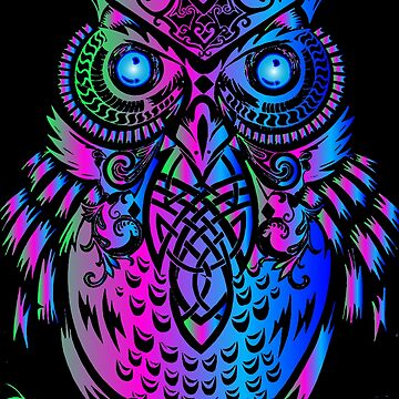 OWL IN THE MOON LIGHT  by johnnyssandart