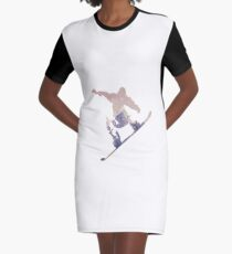 Snowboard Graphic T-Shirt Dress