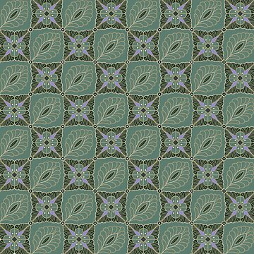 Floral Pattern by Rudravi