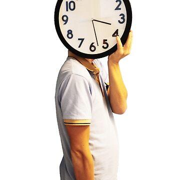 Clock Head by johandahlberg