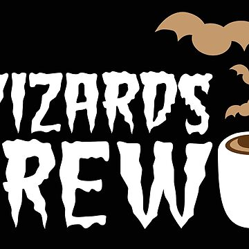 Wizards BREW (perfect Halloween MUG) by jazzydevil