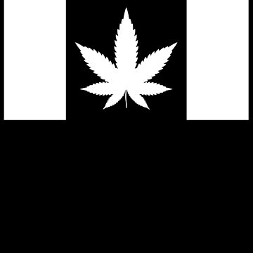 Canada Cannabis Flag by TheFlying6