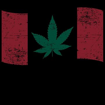 Cannabis Canadian Flag by TheFlying6