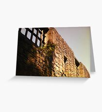 Whalley Abbey. Greeting Card