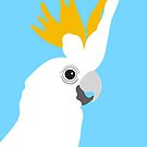 Cockatoo Bird Portrait by Adam Regester