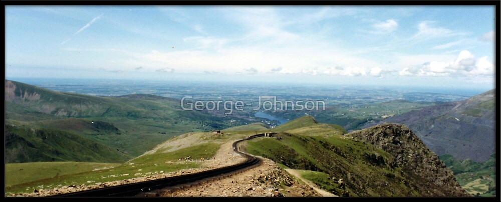 A view from Snowdon by George-Johnson