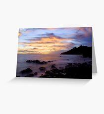 Black Point Sunset Greeting Card