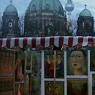 Cold November Market - Berlin by Thomas Fitzgerald