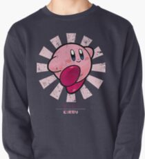 Kirby Retro Japanese Pullover Sweatshirt