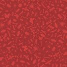 Creepy Crawly Pattern - Red by chayground