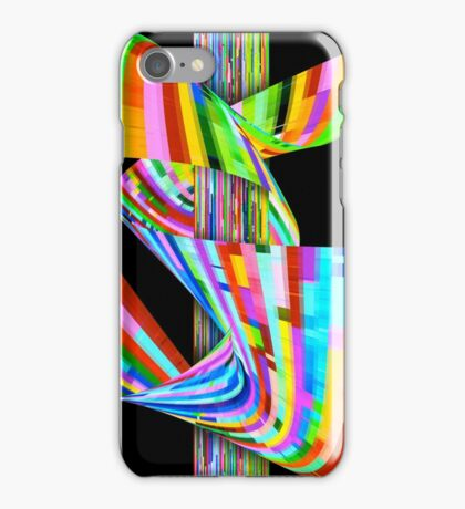 Ribbons of Digital DNA iPhone Case/Skin