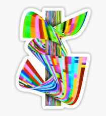 Ribbons of Digital DNA Sticker