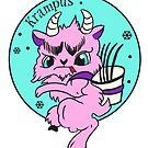 Pink Krampus by Ash Evans