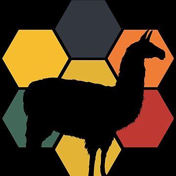 Llama animals by GeschenkIdee