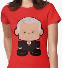 Mr. Bogard POLITICO'BOT Toy Robot Women's Fitted T-Shirt