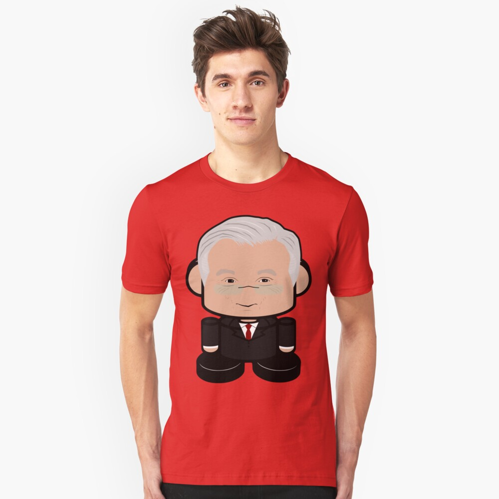 Mr. Bogard POLITICO'BOT Toy Robot Slim Fit T-Shirt