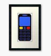 CELL PHONE-2 Framed Print